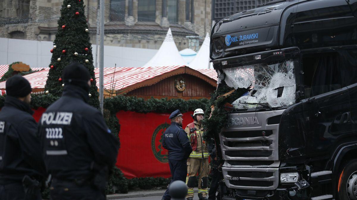 Camión en Berlín
