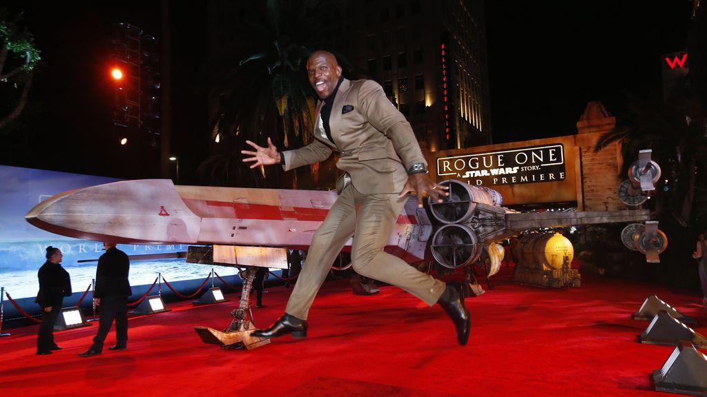 Terry Crews y el 'X-Wing'