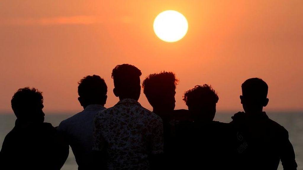 Puesta de sol en Sri Lanka