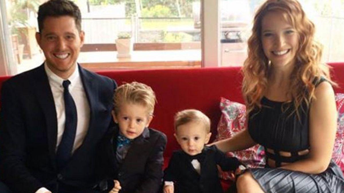 Michael Bublé y familia