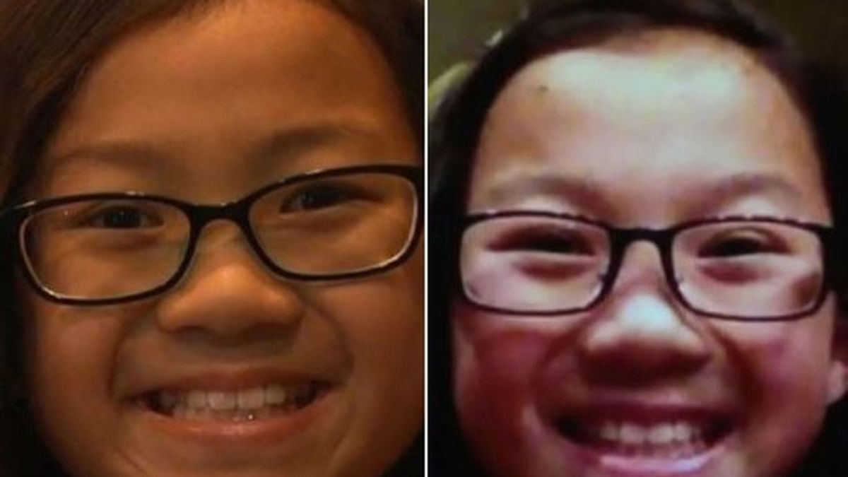 niña china gemela