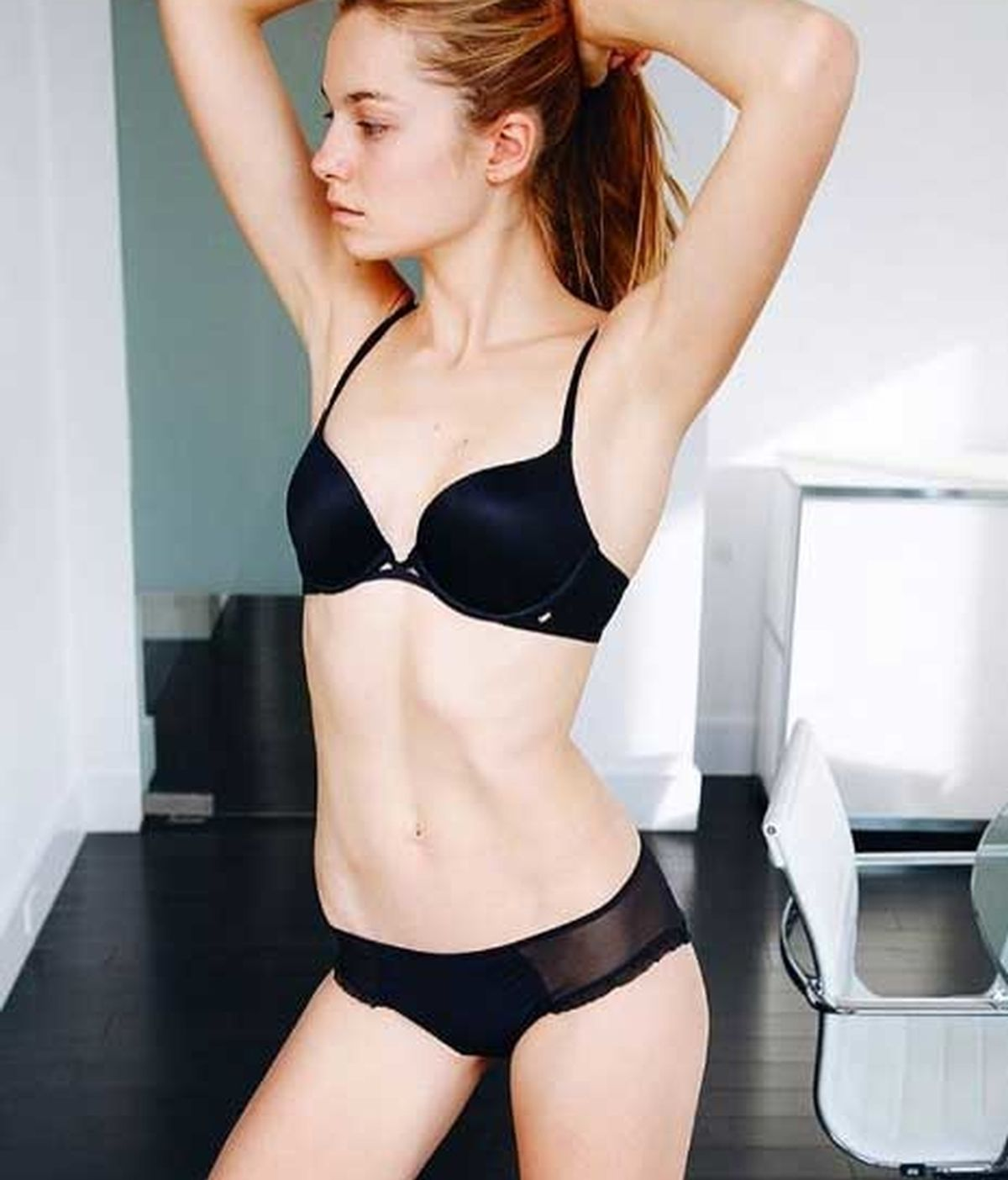 Bridget Malcolm, modelo de Victoria's Secret