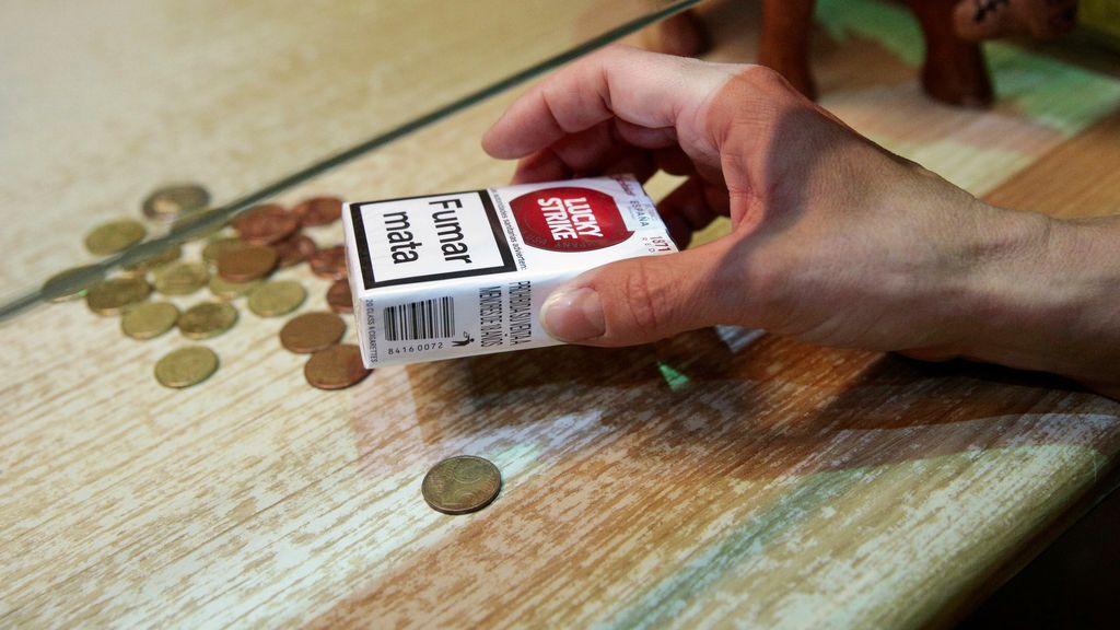 Subida del precio del tabaco