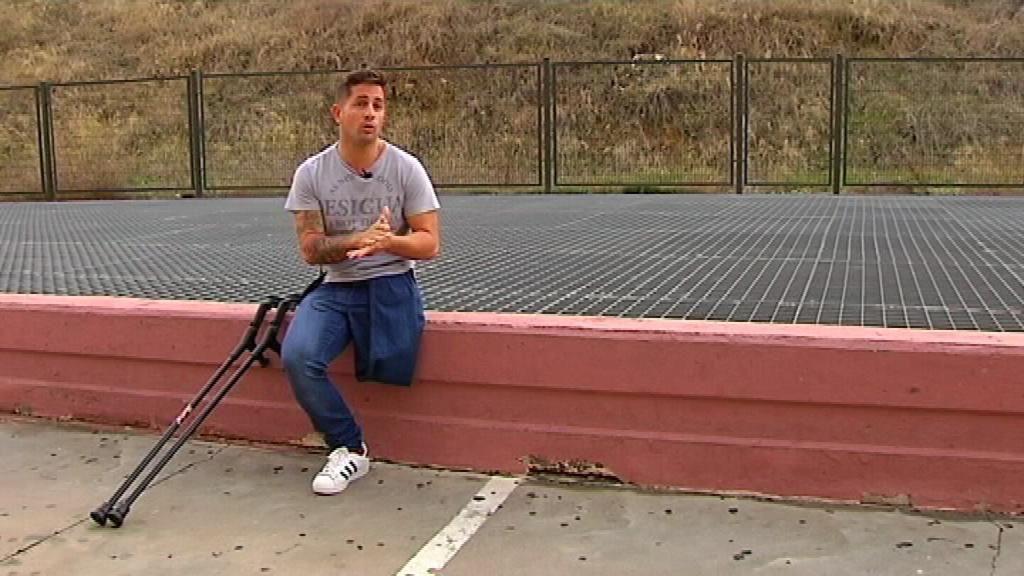 correr,Francisco Vaquero,muletas,superación