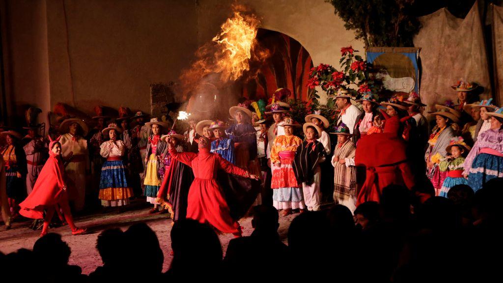 Celebración de las Pastorelas en Ciudad de México