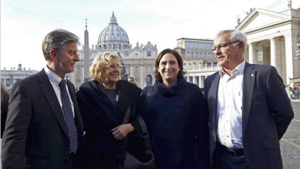 Alcaldes en el Vaticano