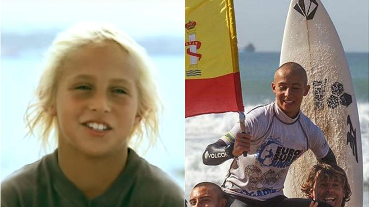 Yael Peña en 2010 y en 2016