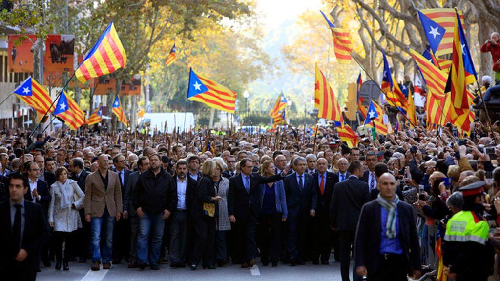Artur Mas declara ante el TSJC por el 9N