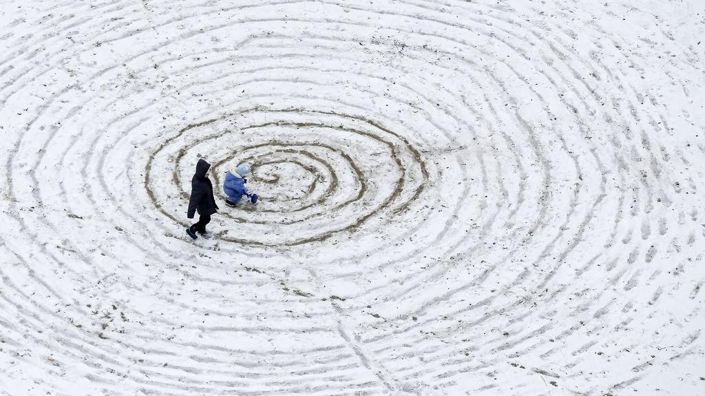 Nieve en Kiev