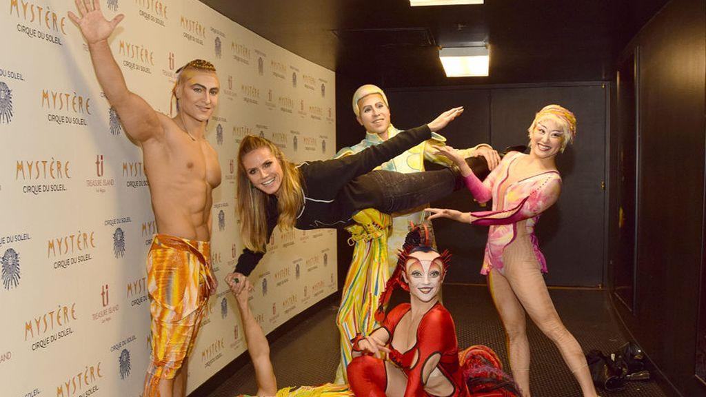 Heidi Klum y el Circo del Sol