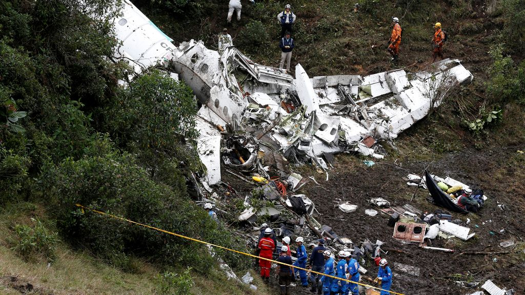 Accidente aéreo chapecoense