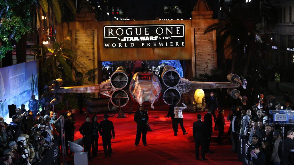 El 'X-wing' también estuvo presente