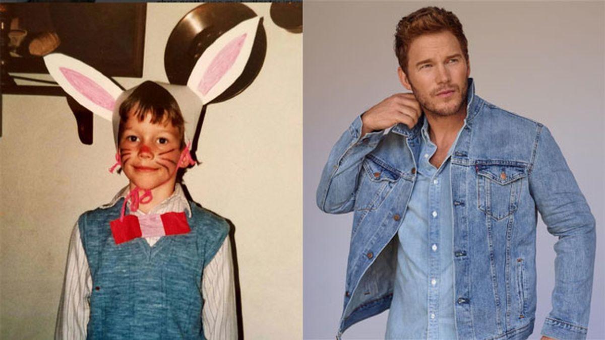 Chris Pratt, el protagonista de Passengers, publica una foto vestido de conejo