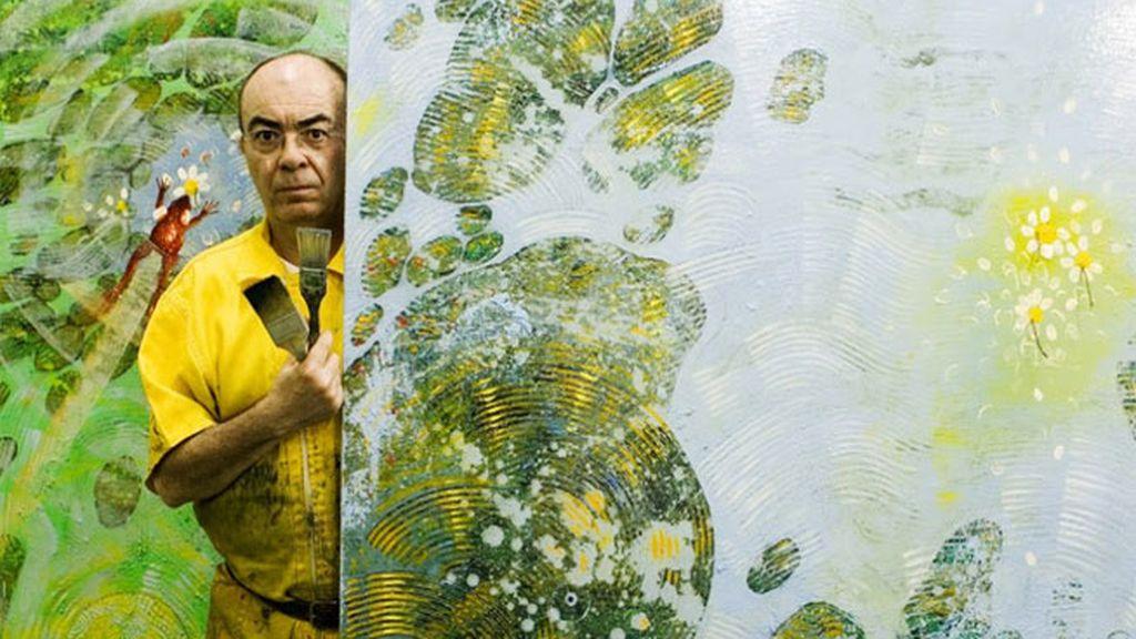 El Hortelano,pintor de la movida madrileña,pintura movida madrileña,José Alfonso Morera Ortiz