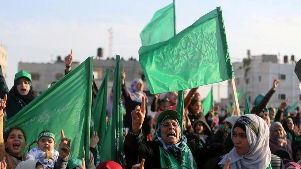 29 aniversario del movimiento Hamas