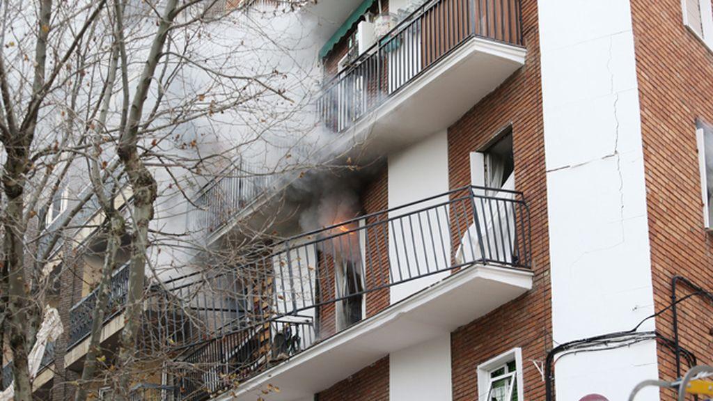Una explosión de gas en una vivienda en Salamanca deja siete heridos