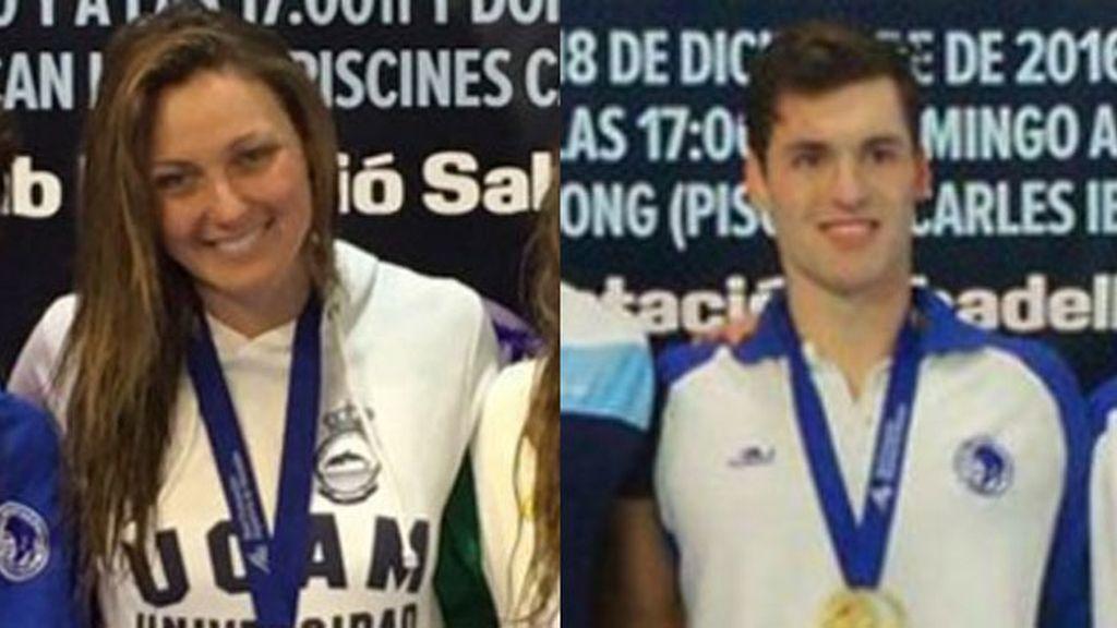 Melani Costa, dos oros y Marc Sánchez bate el récord nacional de 400 libre