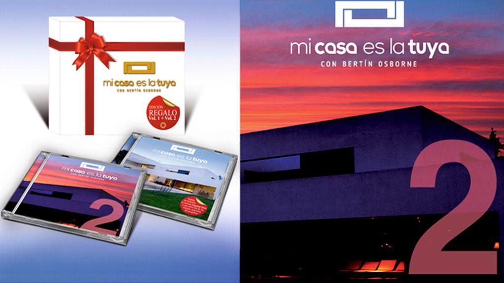 CD Mi casa es la tuya volumen 2 y pack de regalo volumen 1 y 2