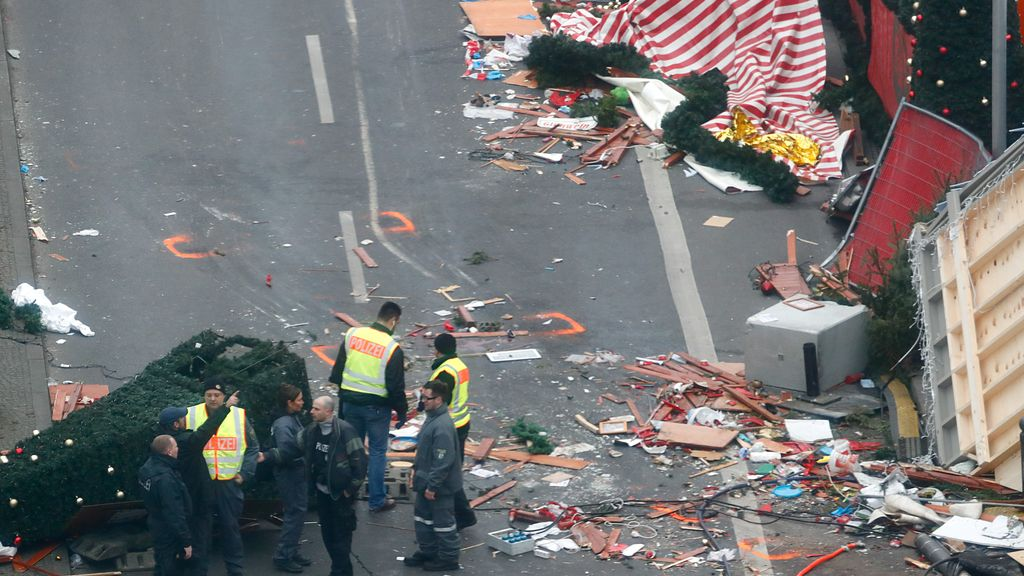 Atentado terrorista en un mercado navideño en Berlín