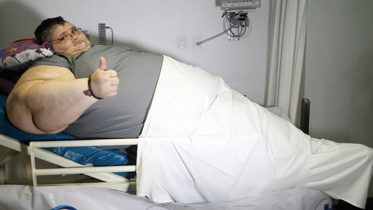 El hombre más gordo del mundo, Juan Pedro Franco
