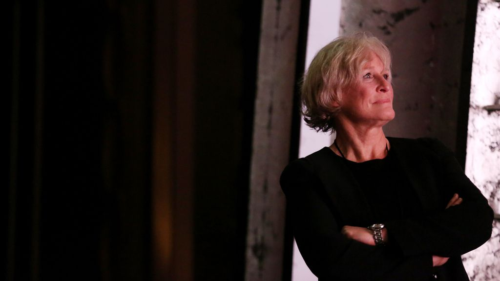 Glenn Close en el teatro Dolvy