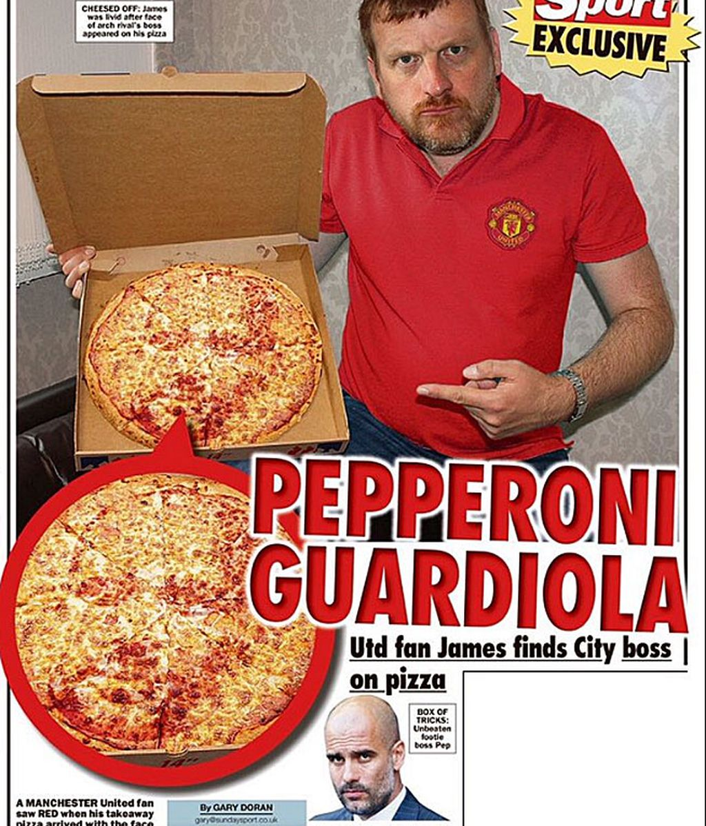Guardiola pizza
