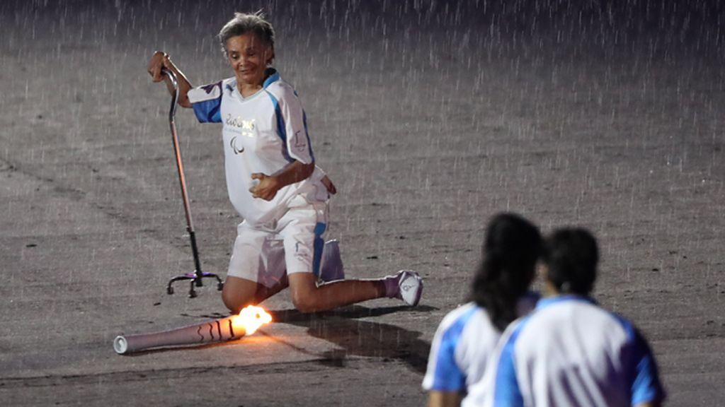La anciana atleta encogió los corazones del mundo entero
