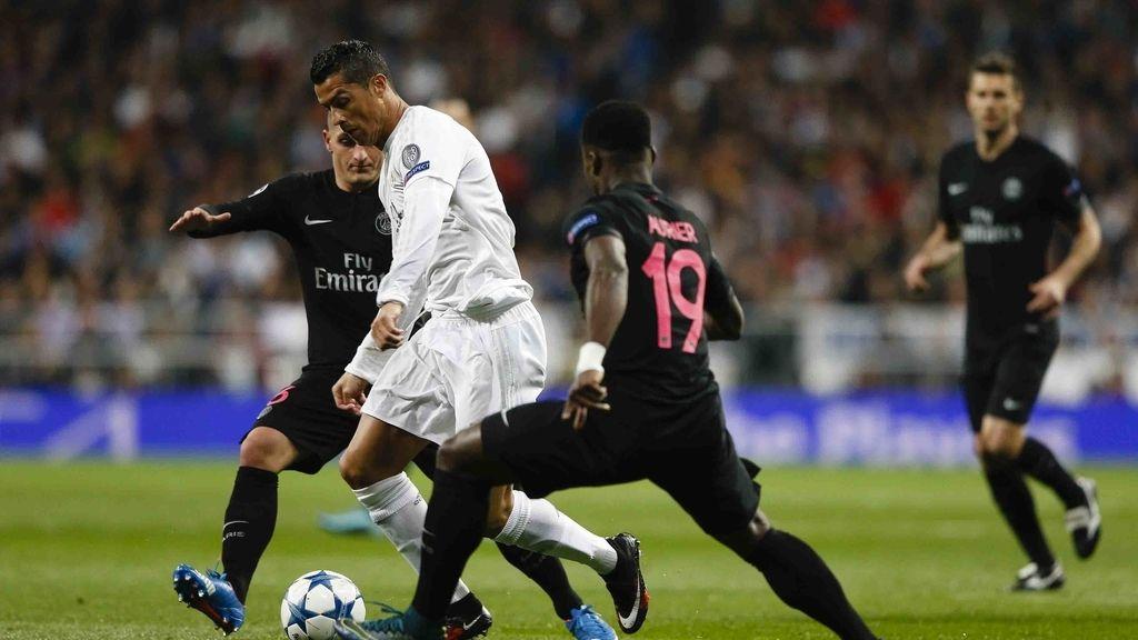 El Real Madrid contra el París Saint-Germain