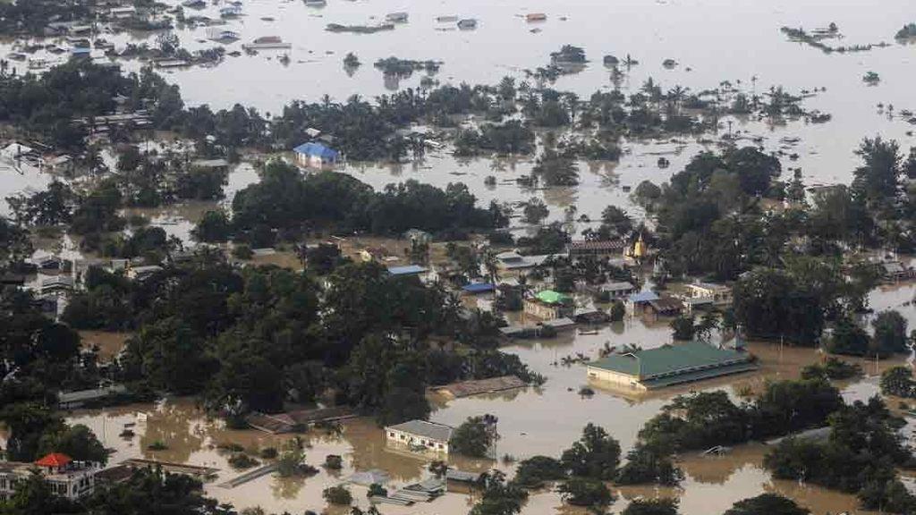 Más de 200.000 personas necesitan ayuda urgente por las inundaciones en Birmania