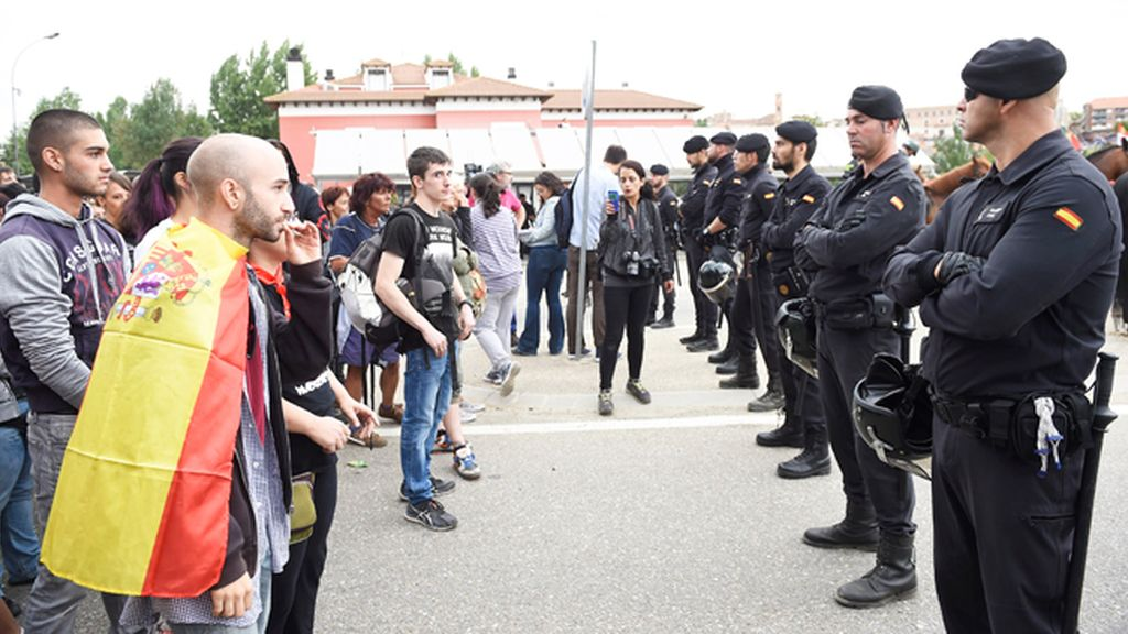 A golpes en Tordesillas por el 'Toro de la Peña'