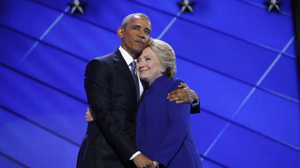 """Obama apoya a Hillary Clinton: """"La más cualificada para presidenta de EEUU"""""""