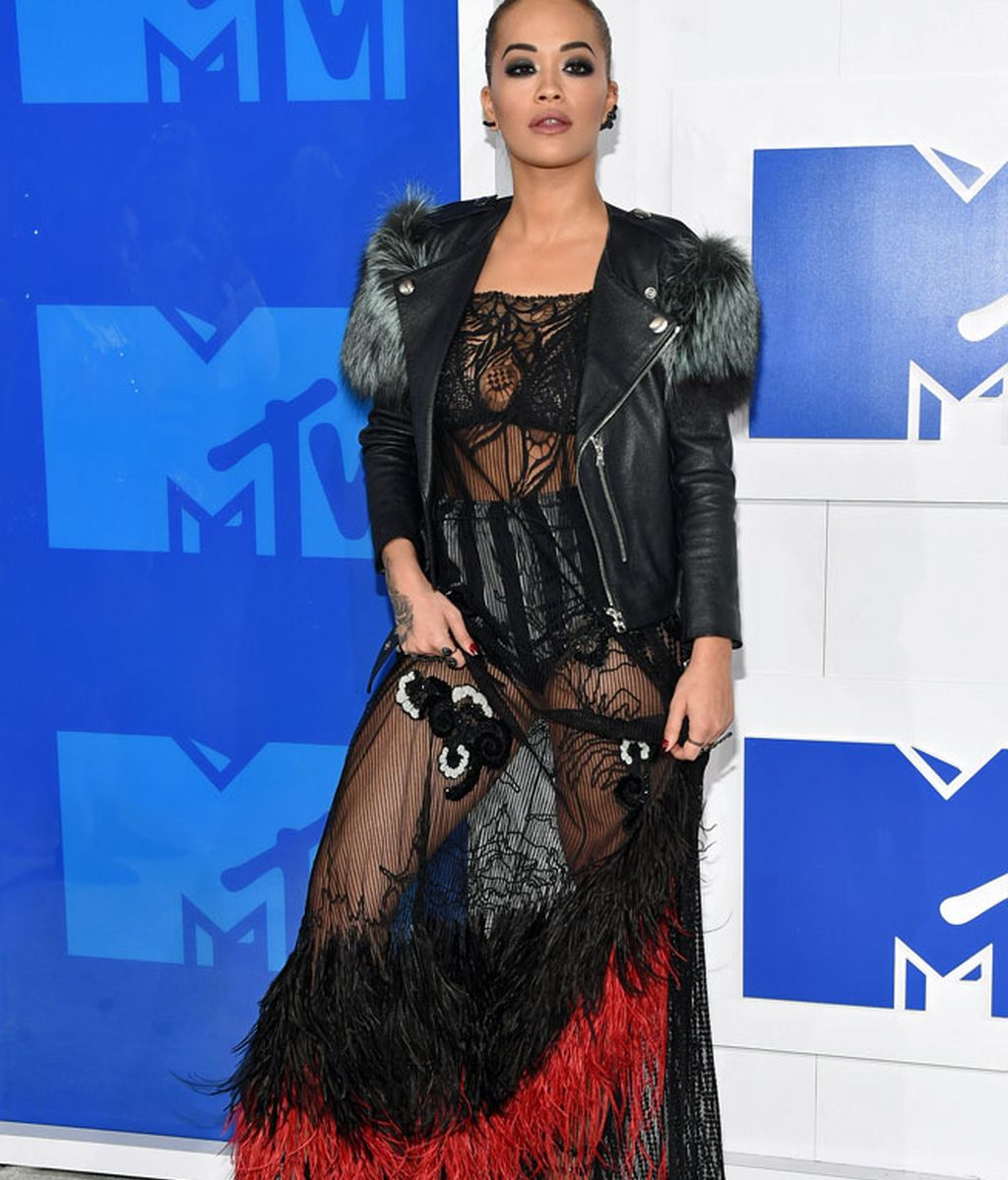 Rita Ora en los 'MTV MVA' en Madison Square