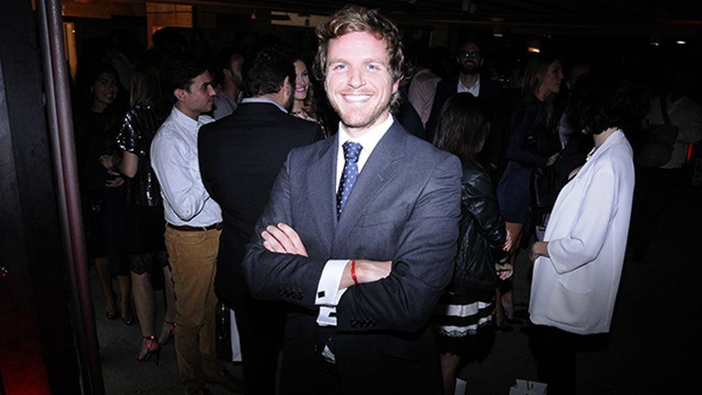 El presentador Álvaro de la Lama