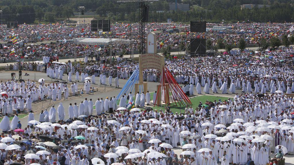 El Día de la Juventud protagonizada por el Papa Francisco