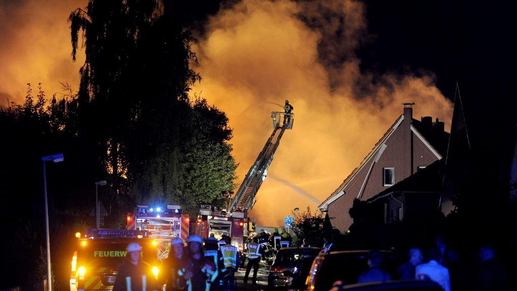 Explosión en una fábrica de productos químicos en Alemania