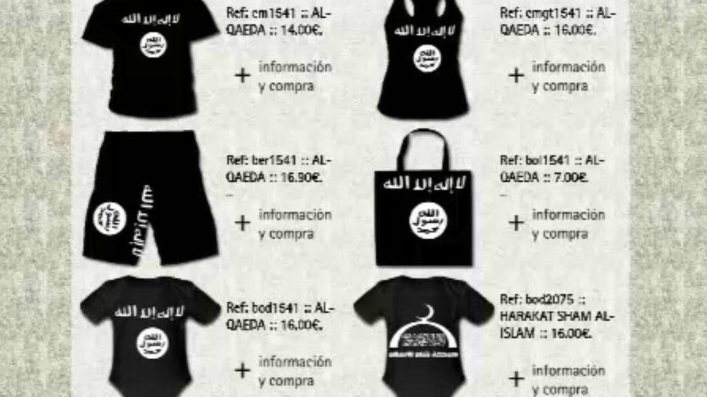 Ropa yihadista
