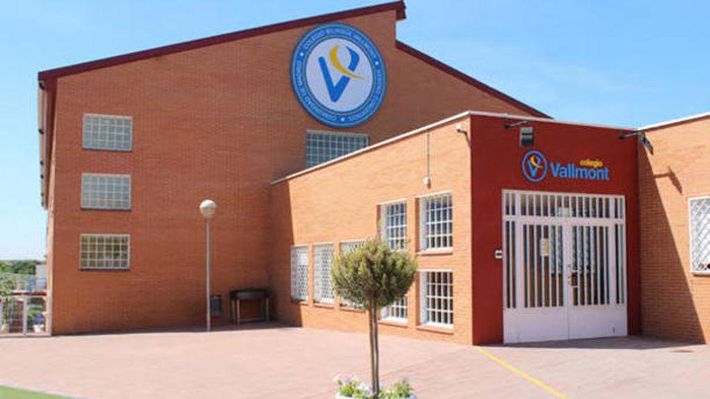 Fachada del colegio Vallmont
