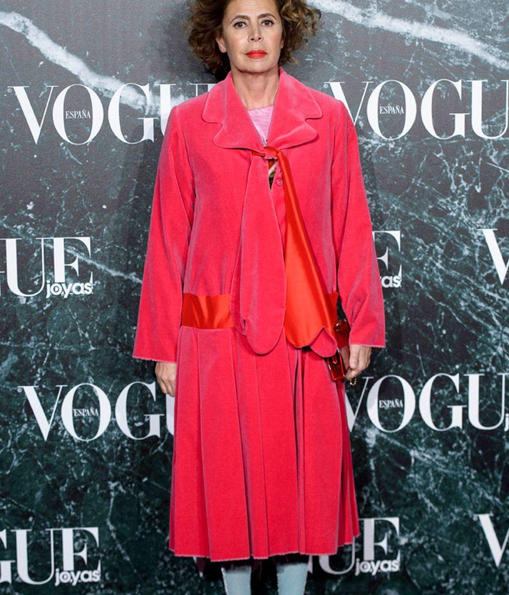 Agatha Ruiz de la Prada siempre fiel a su estilo