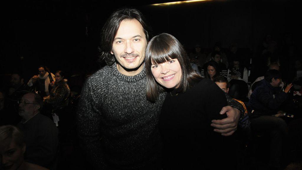Alberto y Laura Caballero, directores de 'La que se avecina'