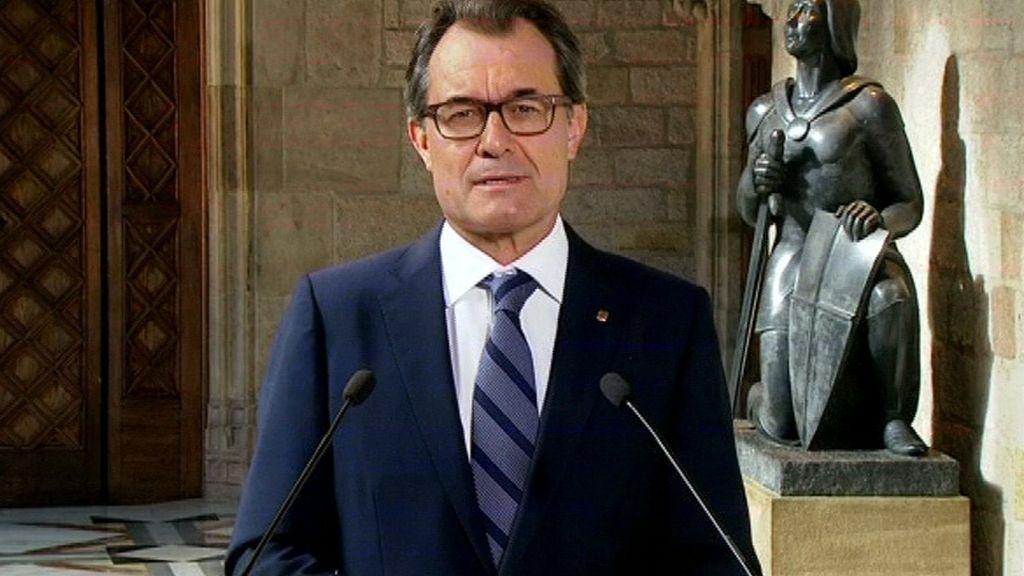 Artur Mas a los españoles