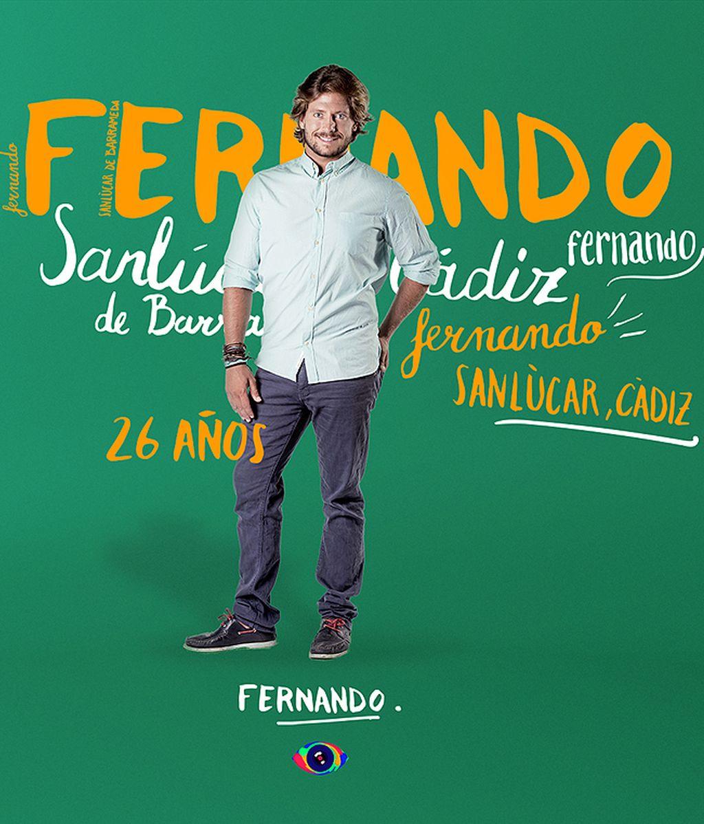 Fernando, 26 años (San Lúcar de Barrameda)