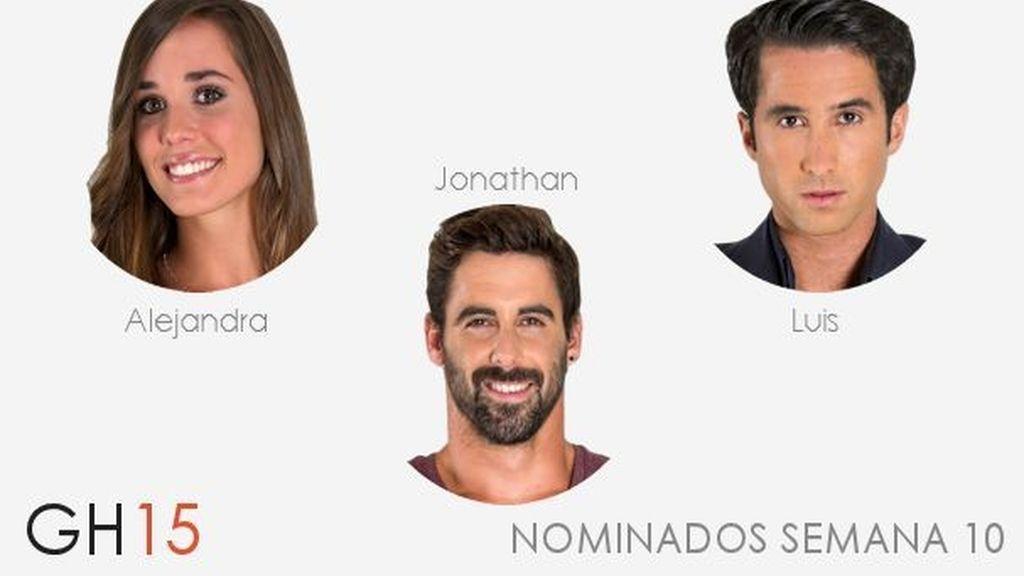 Nominados semana 10