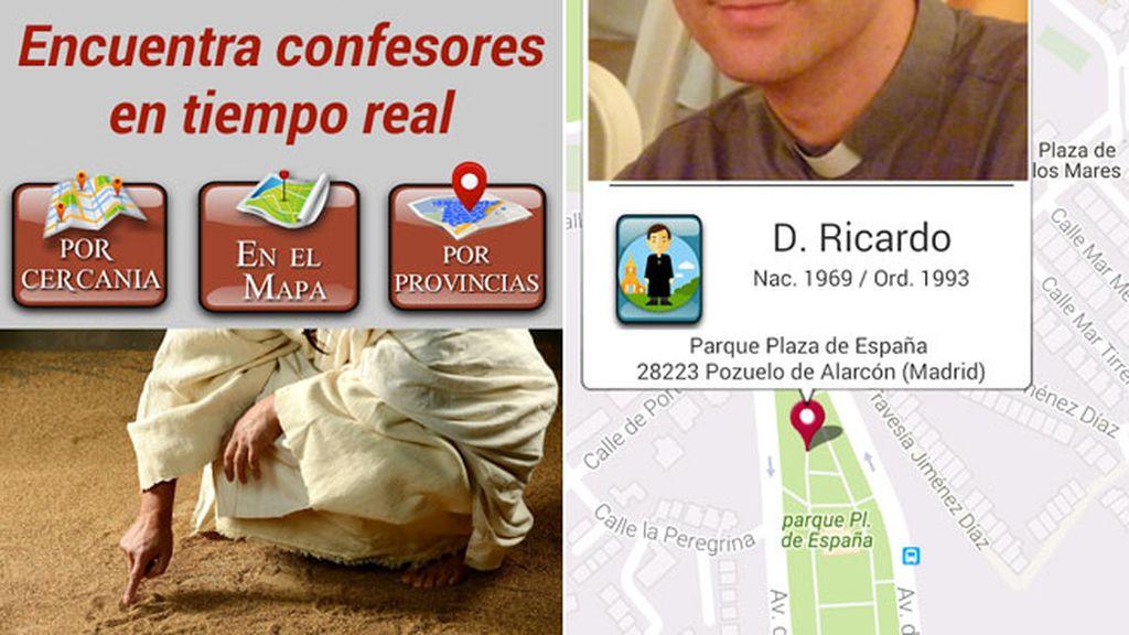Una 'app' permite localizar a un centenar de sacerdotes para dar la confesión en parques y plazas