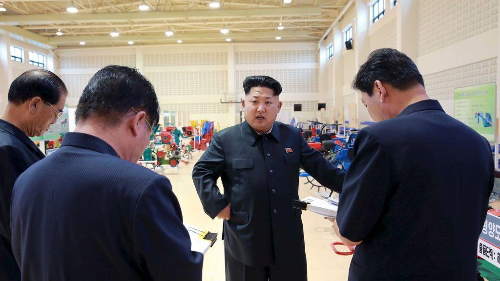 Kim Jong Un, presidente de Corea del Norte