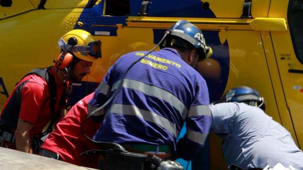 Encuentran muerto al minero que quedó atrapado en la mina de Cerredo