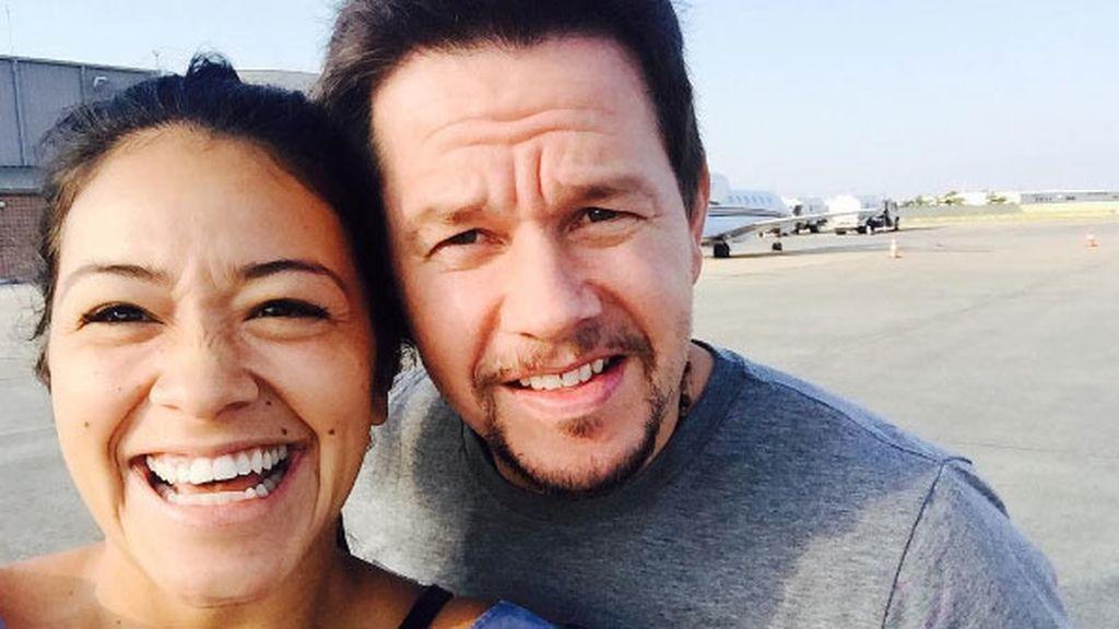 Amigos divinos en Hollywood como Mark Wahlberg