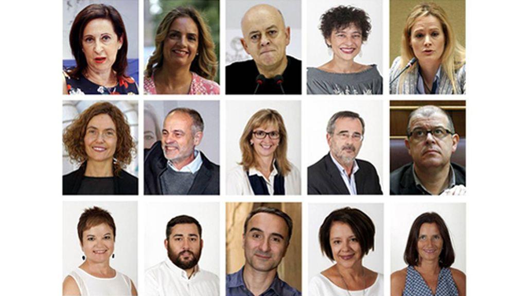 El PSOE abre expediente a los 15 diputados díscolos por su 'no' a Rajoy