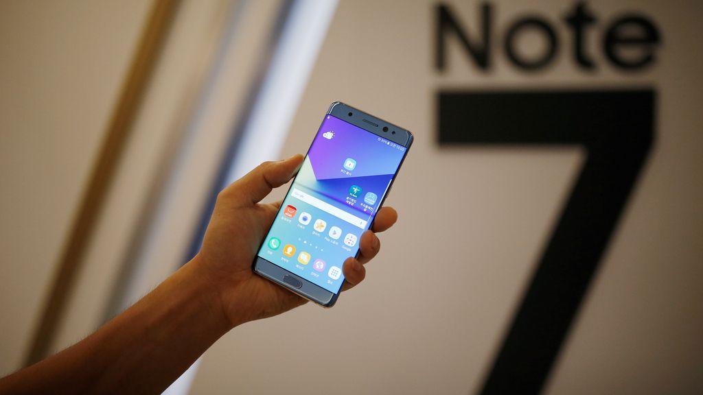 Samsung lanza el Galaxy Note 7