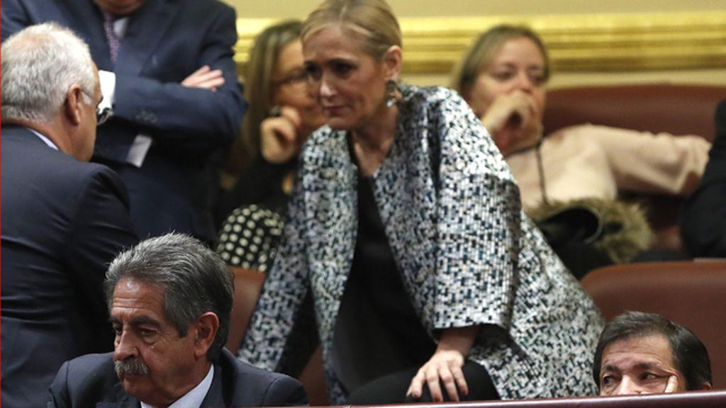 """Cifuentes dice que los madrileños """"pagan"""" la salud y la educación de los andaluces"""