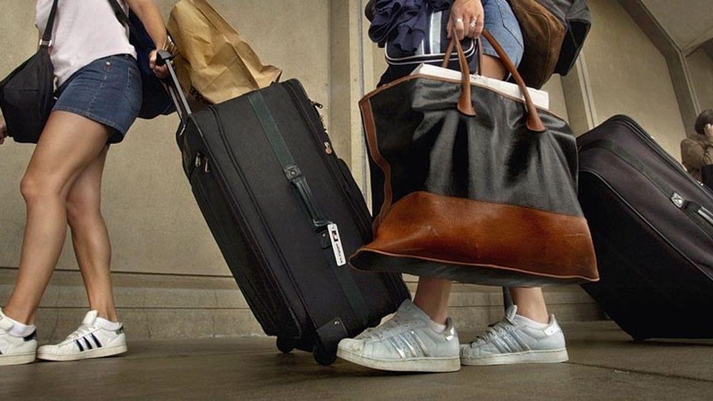 maletas, equipaje de mano